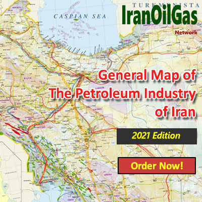 General Map of The Petroleum Industry of Iran